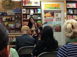Laura-singing