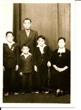 Kageyama family before WW2